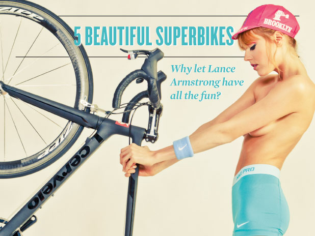Easy Riders: 5 Beautiful Bicycles (And One Beautiful Woman)