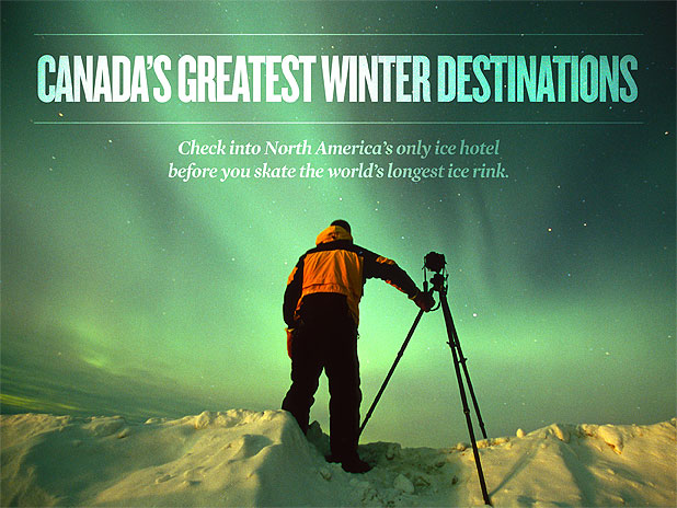 Canada's Greatest Winter Destinations