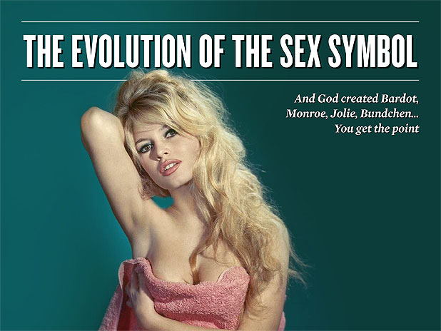 The Evolution of the Sex Symbol