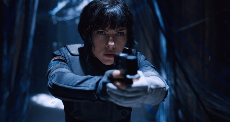 New Ghost In The Shell teaser trailer.