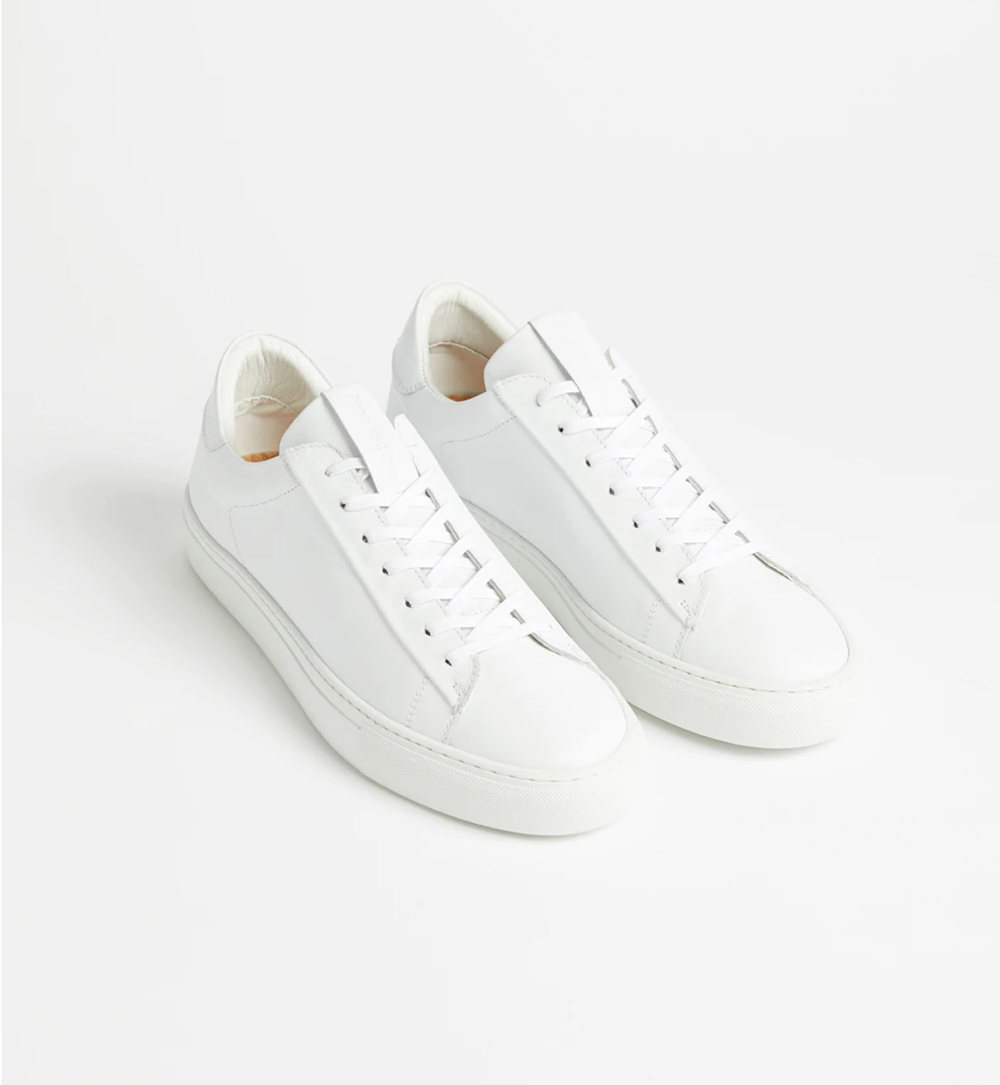sports shoes 70872 eea0b One aspect I love about plain white sneakers is the emphasis they put on  details other than colour. Interesting fabrics, construction, and design  are of ...
