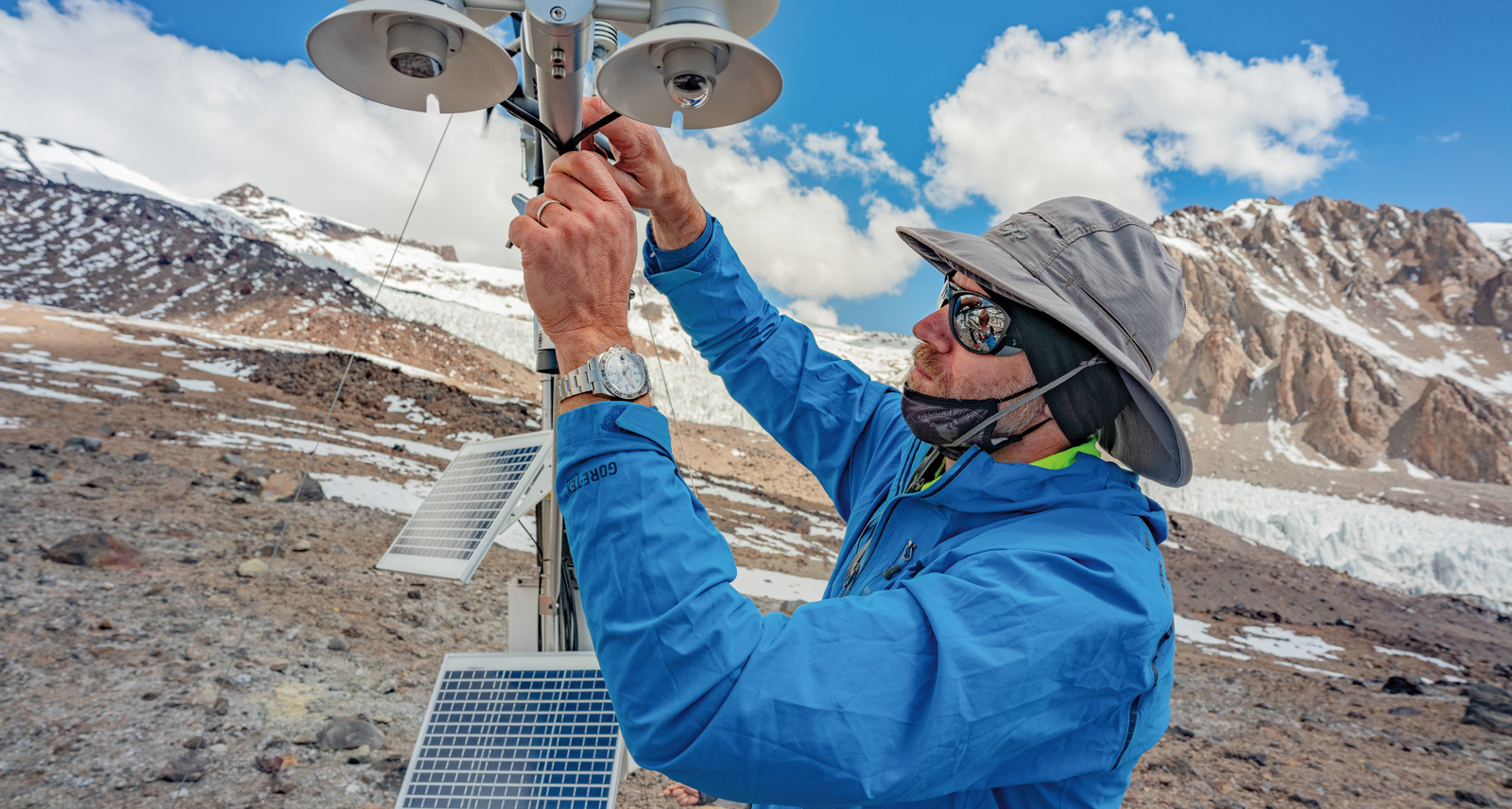 How Rolex and National Geographic Are Fighting Climate Change in The Chilean Andes